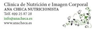 Ana Checa Nutricionista en Alicante